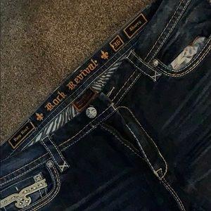 Rock Revival Jeans - Rock revival sherry